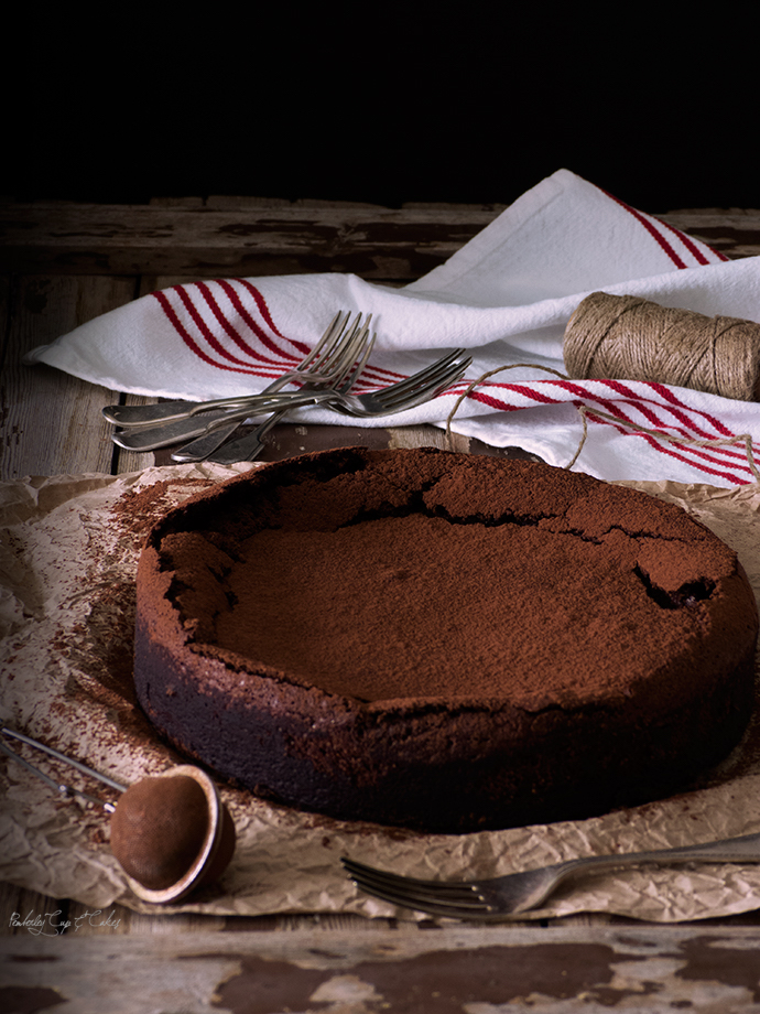 Flourless Chocolate Cake (Bizcocho de chocolate sin gluten)