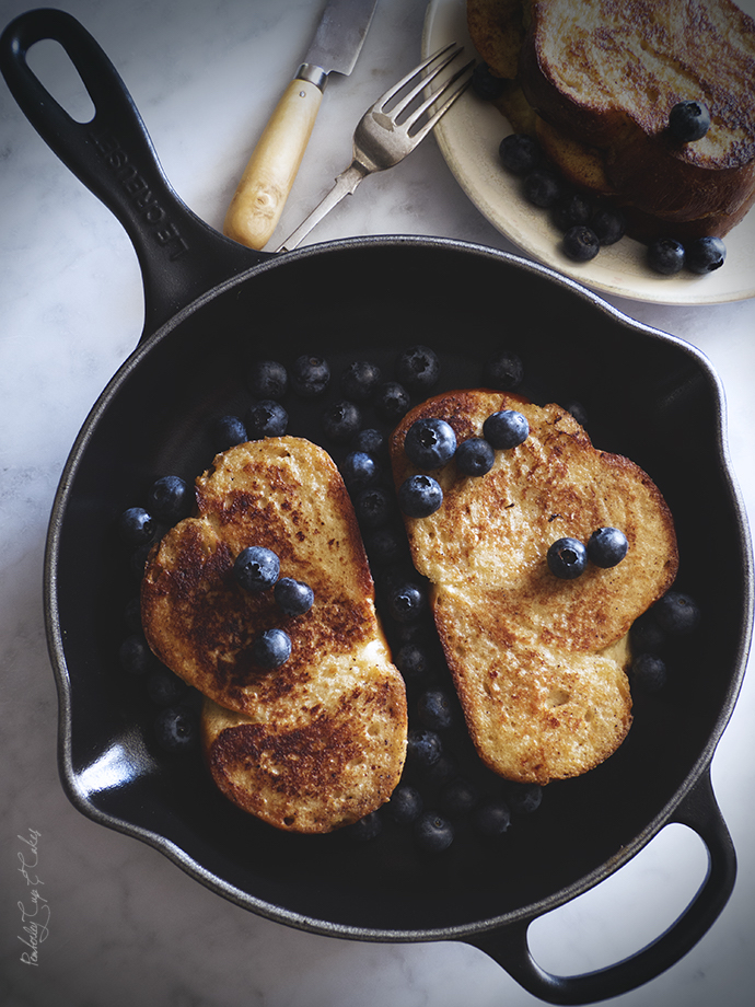 Skillet French toast. The best toasts!